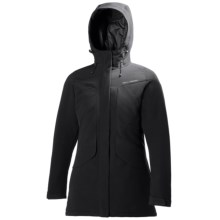 Helly Hansen Hilton Soft Shell Parka - Insulated (For Women) in Black - Closeouts