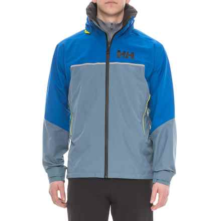 Helly Hansen HP Fjord Hard Shell Jacket - Waterproof (For Men) in Blue Mirage - Closeouts