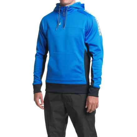 Helly Hansen HP Fleece Hoodie - Zip Neck (For Men) in Racer Blue - Closeouts