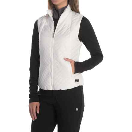Helly Hansen HP Insulator PrimaLoft® Vest - Insulated (For Women) in White - Closeouts