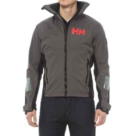 Helly Hansen HP Lake Jacket - Waterproof (For Men) in Dark Gull Grey - Closeouts
