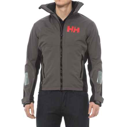 Helly Hansen HP Lake Jacket - Waterproof (For Men) in Dark Gull Grey - Closeouts