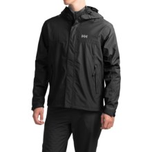 Helly Hansen Hustad Hooded Jacket - Waterproof (For Men) in Black - Closeouts