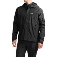 Helly Hansen Hustad Hooded Jacket - Waterproof (For Men) in Black - Closeouts