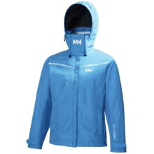 Helly Hansen Hydro Power Bay Jacket - Waterproof (For Women) in Azure Blue - Closeouts