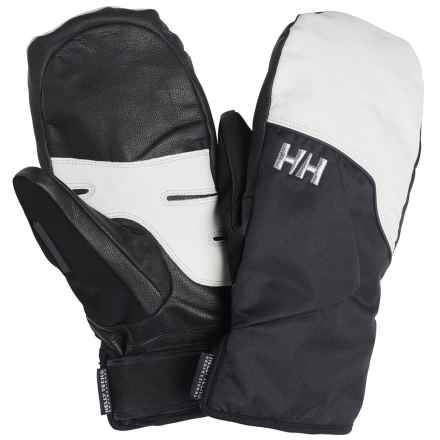 Helly Hansen Imperial HT Mittens - Waterproof, Insulated (For Men) in Black/White - Closeouts