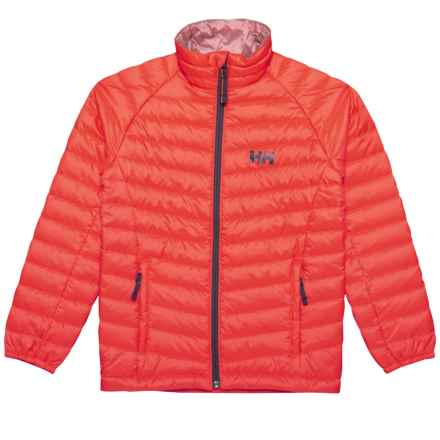 Helly Hansen Jr. Juell Insulator Jacket (For Big Kids) in Neon Coral - Closeouts