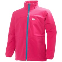 Helly Hansen Jr. Paramount Soft Shell Jacket (For Big Kids) in Magenta - Closeouts