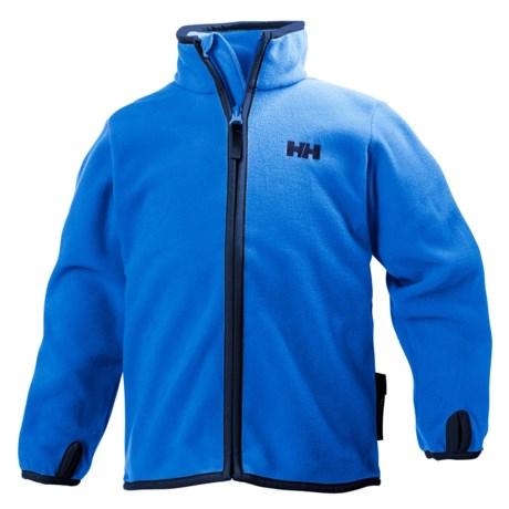Helly Hansen K Daybreaker Polartec® Fleece Jacket (For Little and Big Kids) in Racer Blue