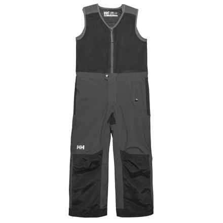 Helly Hansen K Powder Bib Pants - Waterproof, Insulated (For Little and Big Kids) in Ebony - Closeouts