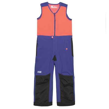 Helly Hansen K Powder Bib Pants - Waterproof, Insulated (For Little and Big Kids) in Lavender - Closeouts