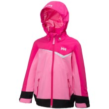 Helly Hansen K Shelter Jacket (For Little Kids) in Sparkling Pink - Closeouts