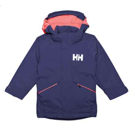 Helly Hansen K Snowfall Jacket - Waterproof, Insulated (For Little and Big Kids) in Lavender - Closeouts