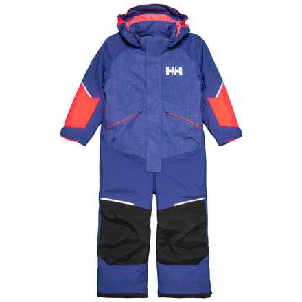 Helly Hansen K Snowfall PrimaLoft® ECO Playsuit - Waterproof, Insulated (For Little and Big Kids) in Lavender - Closeouts