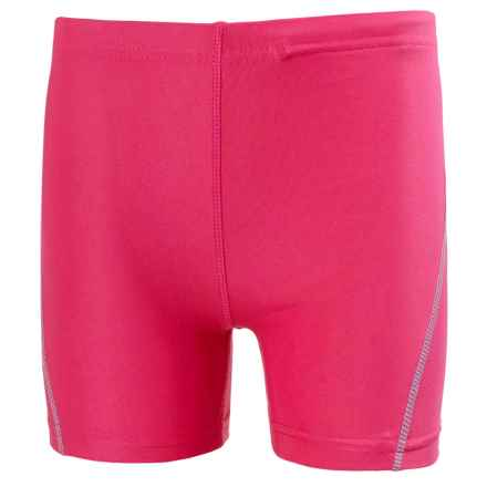 Helly Hansen K Summerfun UV Shorts - UPF 40+ (For Little Kids) in Magenta - Closeouts