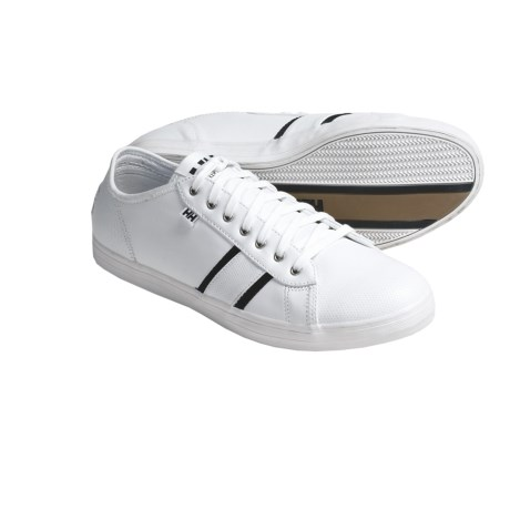 Helly Hansen Latitude 42 Shoes - Leather (For Men) in White/Navy/Gum
