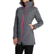 Helly Hansen Laurel Long Jacket - Waterproof (For Women) in Artic Grey - Closeouts