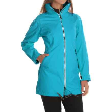 Helly Hansen Laurel Long Jacket - Waterproof (For Women) in Dim Blue - Closeouts
