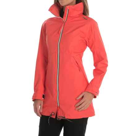 Helly Hansen Laurel Long Jacket - Waterproof (For Women) in Sorbet - Closeouts