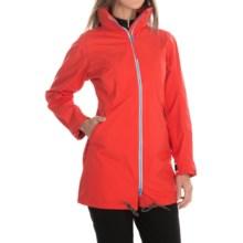 Helly Hansen Laurel Long Jacket - Waterproof (For Women) in Summer Red - Closeouts