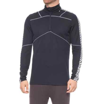 Helly Hansen LIFA® Active Base Layer Top - Zip Neck, Long Sleeve (For Men) in Navy - Closeouts