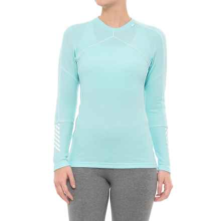 Helly Hansen LIFA® Crew Neck Base Layer Top - Merino Wool, Long Sleeve (For Women) in Glacier - Closeouts