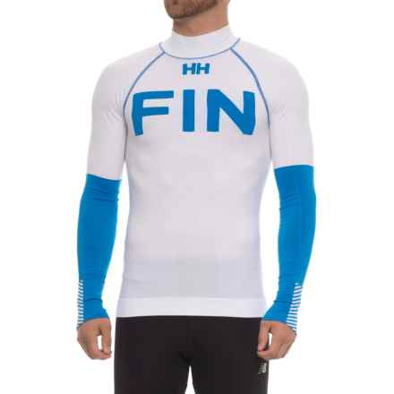 Helly Hansen LIFA® Seamless Base Layer Top - Long Sleeve (For Men) in Racer Blue - Closeouts