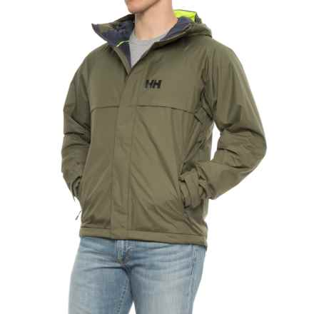 Helly Hansen Loke Har Jacket- Waterproof, Insulated (For Men) in Ivy Green - Closeouts