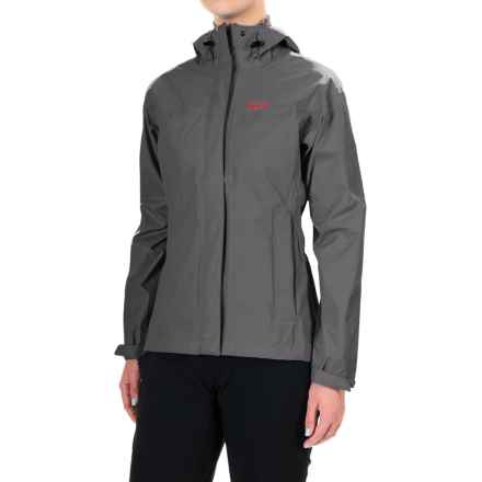 Helly Hansen Loke Helly Tech® Jacket - Waterproof (For Women) in Charcoal - Closeouts