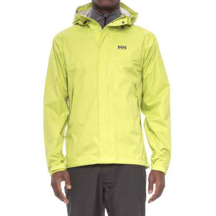 Helly Hansen Loke Jacket - Waterproof (For Men) in Bright Chartreuse - Closeouts