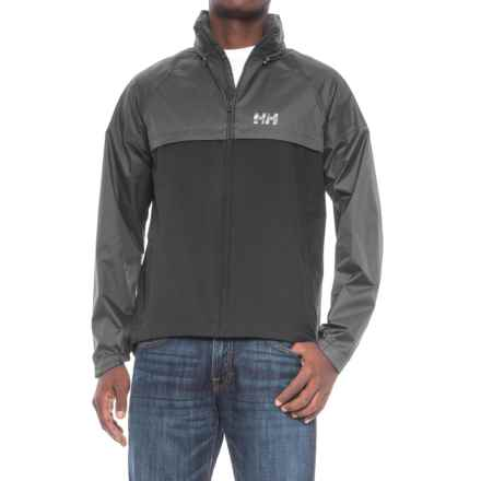 Helly Hansen Loke Kaos Jacket - Waterproof (For Men) in Ebony/Black - Closeouts