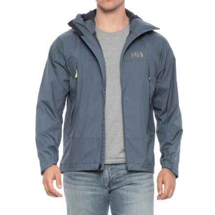 Helly Hansen Loke Saga Jacket (For Men) in Shadow Blue - Closeouts