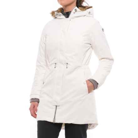 Helly Hansen Luna PrimaLoft® Parka - Insulated (For Women) in Off White - Closeouts