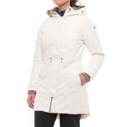 Helly Hansen Luna PrimaLoft® Parka - Insulated (For Women) in Off White - Closeouts
