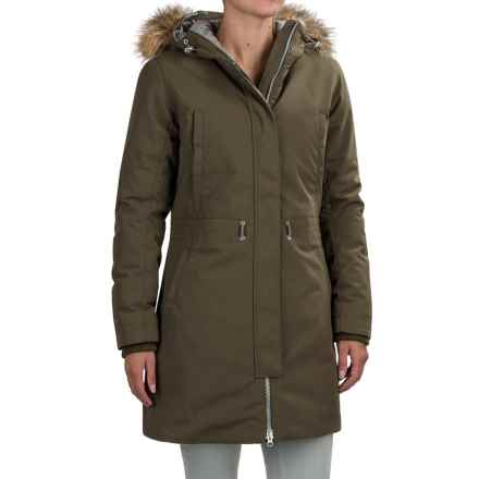 Helly Hansen Lunar PrimaLoft® Parka - Insulated (For Women) in Olive Night - Closeouts