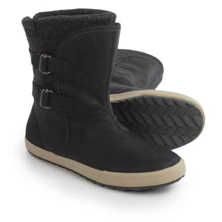 Helly Hansen Maria Boots - Leather (For Women) in Black - Closeouts