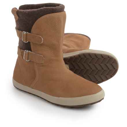 Helly Hansen Maria Boots - Leather (For Women) in Camel - Closeouts