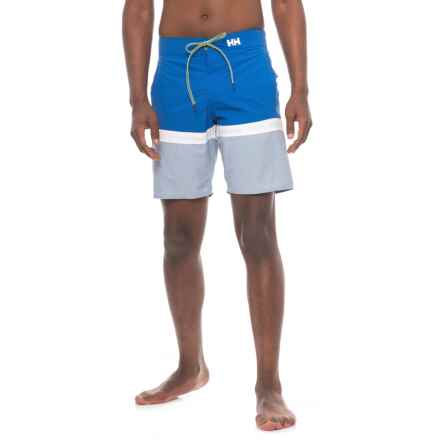 Helly Hansen Marstrand Boardshorts (For Men) in Olympian Blue - Closeouts
