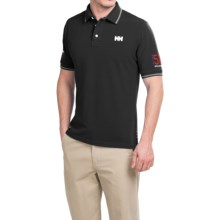 Helly Hansen Marstrand Polo Shirt - Short Sleeve (For Men) in Navy - Closeouts