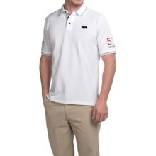 Helly Hansen Marstrand Polo Shirt - Short Sleeve (For Men) in White - Closeouts