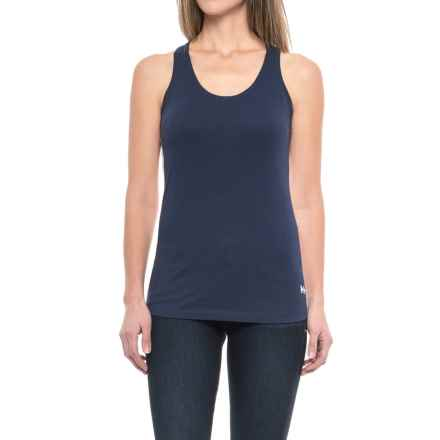 Helly Hansen Naiad Singlet - Cotton-Modal, Sleeveless (For Women) in Evening Blue - Closeouts