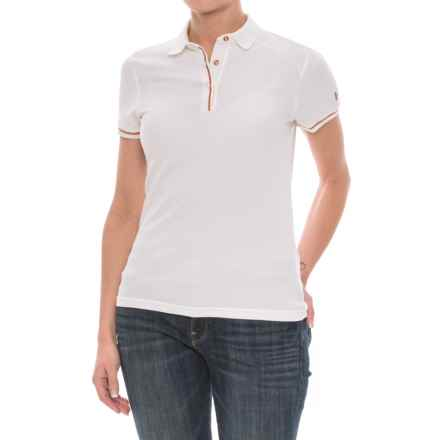 Helly Hansen Naiadline Polo Shirt - UPF 40+, Short Sleeve (For Women) in White - Closeouts