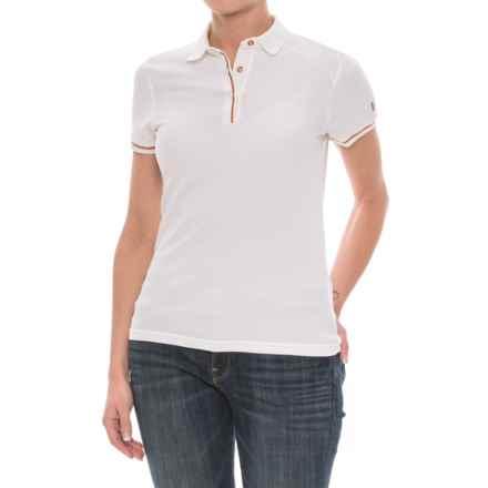 Helly Hansen Naiadline Polo Shirt - UPF 40+, Short Sleeve (For Women) in White - Closeouts