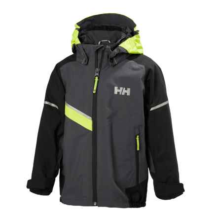 Helly Hansen Norse Jacket - Waterproof (For Little Kids) in Charcoal - Closeouts
