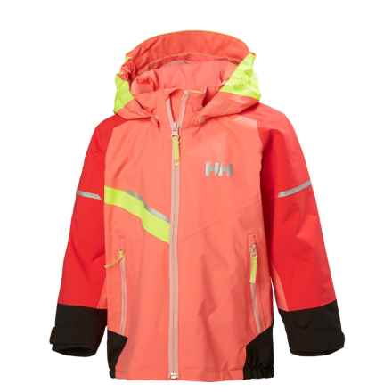 Helly Hansen Norse Jacket - Waterproof (For Little Kids) in Shell Pink - Closeouts