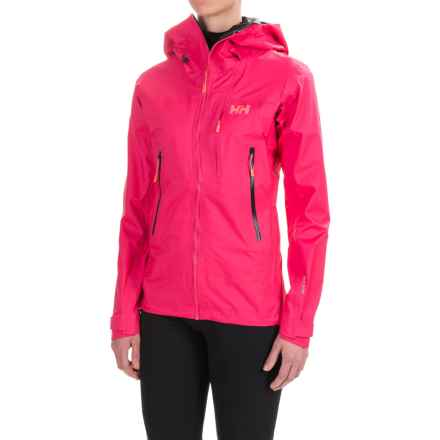 Helly Hansen Odin Enroute Shell Jacket - Waterproof (For Women) in Magenta - Closeouts