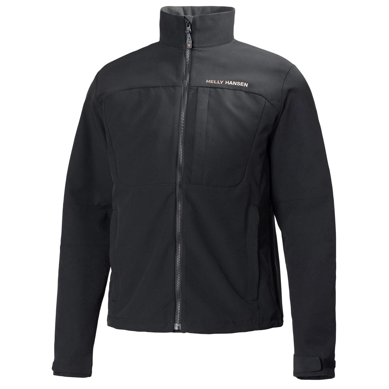 helly hansen odin rapide soft shell jacket for men in black. Black Bedroom Furniture Sets. Home Design Ideas