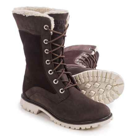 Helly Hansen Othilia Snow Boots - Waterproof, Suede and Nubuck (For Women) in Coffee Bean - Closeouts