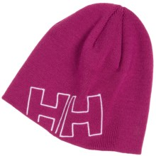 Helly Hansen Outline Beanie Hat (For Little and Big Kids) in Hot Pink - Closeouts