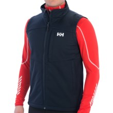 Helly Hansen Paramount Vest - Windproof, Full Zip (For Men) in Navy - Closeouts